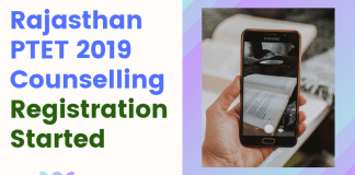 Rajasthan-PTET-2019-Counselling-Registration-Started-Aglasem