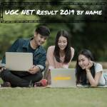 ugc net result name