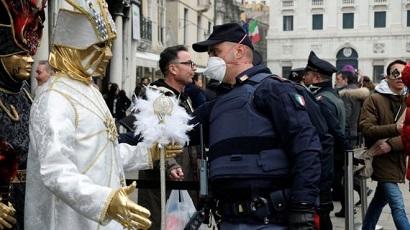 Venice Carnival closes due to new coronavirus outbreak