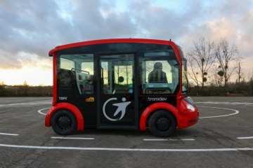 Chile prueba primer autobús autónomo de Latinoamérica