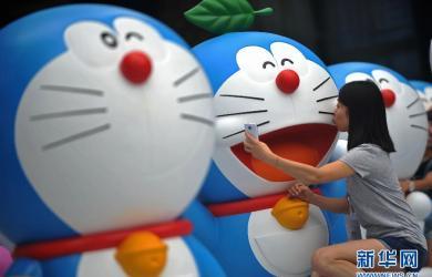 8月份哆啦A夢祕密道具博覽會在成都國際金融中心開幕,102只1:1比例的哆啦A夢展出,活動持續到9/28日。