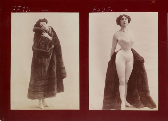 Léopold Reutlinger, La Belle Otéro, from an album of photographs. Photo: Bibliothèque Nationale de France, Paris.