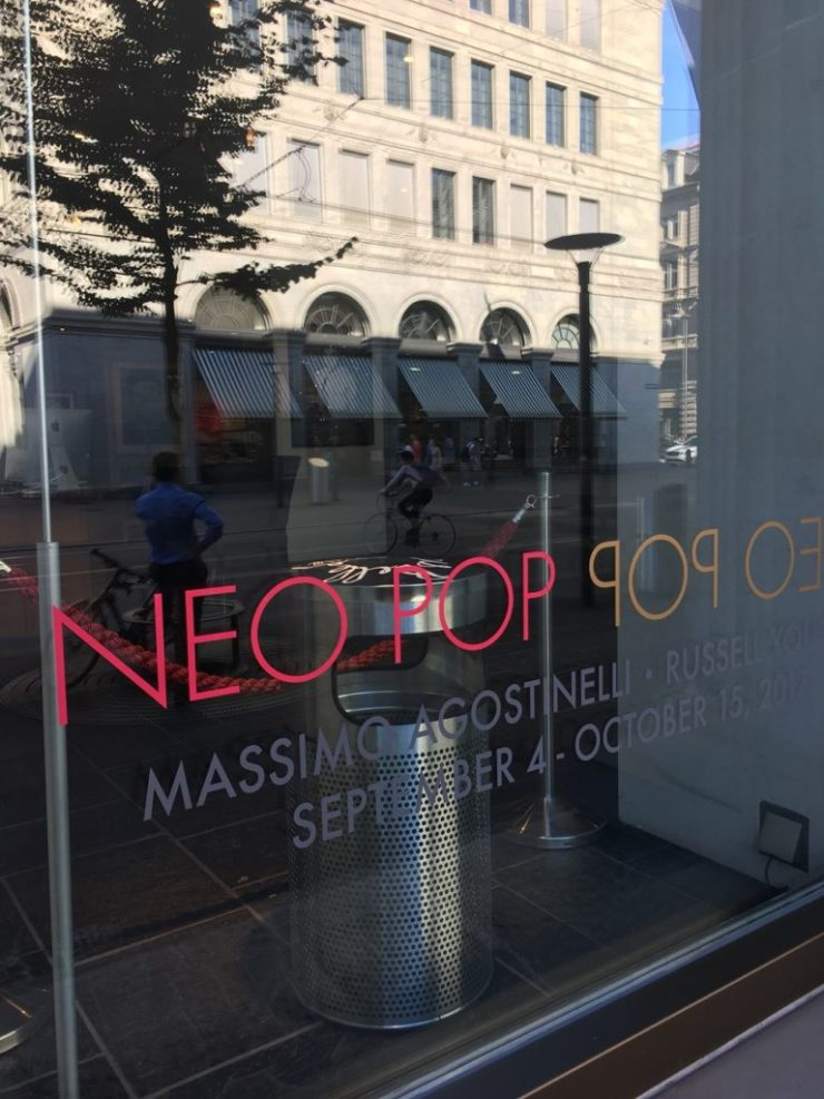 The bin on display at Vertes Gallery in Zurich. Courtesy Massimo Agonstinelli