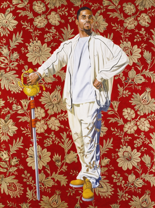 Kehinde Wiley's Willem van Heythuysen (2005). Virginia Museum of Fine Arts. © Kehinde Wiley. Photo: Katherine Wetzel © VMFA.