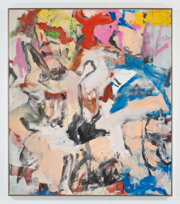 Willem de Kooning, Untitled XII (1975). Courtesy Lévy Gorvy