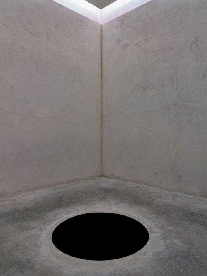 Anish Kapoor, Descent into Limbo (1992) na Fundação de Serralves, Museu de Arte Contemporânea do Porto