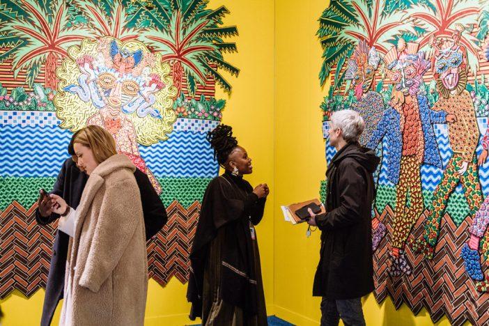 Obra de Jody Paulsen no estande da SMAC Gallery, durante a Armory Show 2019. Foto: Teddy Wolff, cortesia Armory Show