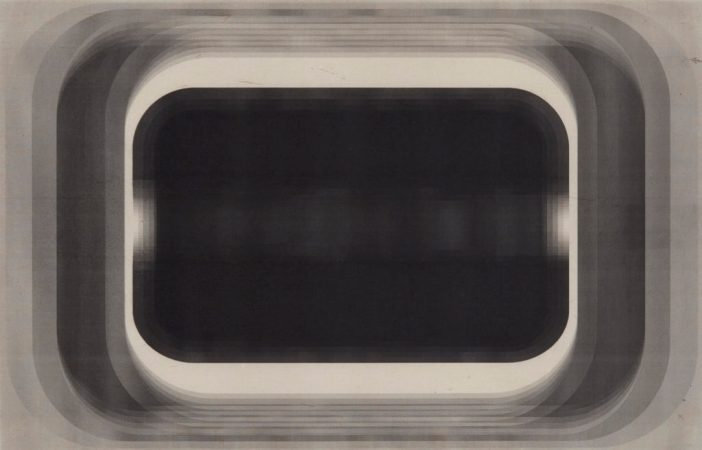 Marsha Cottrell, Aperture Series (40), 2016. Laser toner on paper. Courtesy the artist.