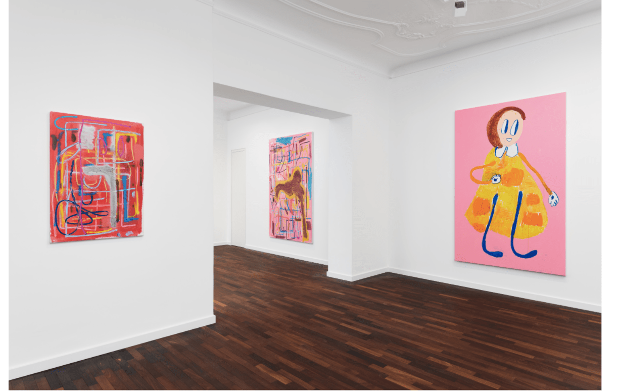 The German Painter Andr 233 Butzer Created A Colorful Ode To