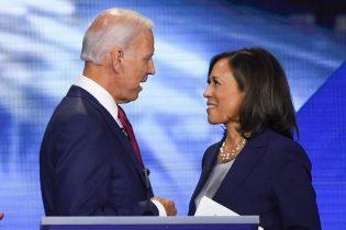 Joe Biden and Kamala Harris (Photo by ROBYN BECK/AFP via Getty Images)