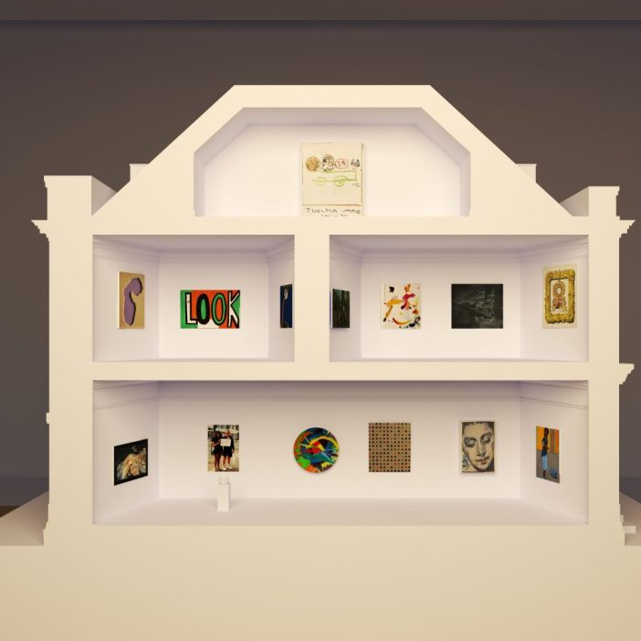 Architects' impression of the 2021 Model Art Gallery, courtesy Wright & Wright.