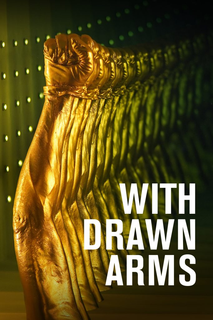 "A film poster from Kaino's 2020 film ""With Drawn Arms."" Photo courtesy Kaino."