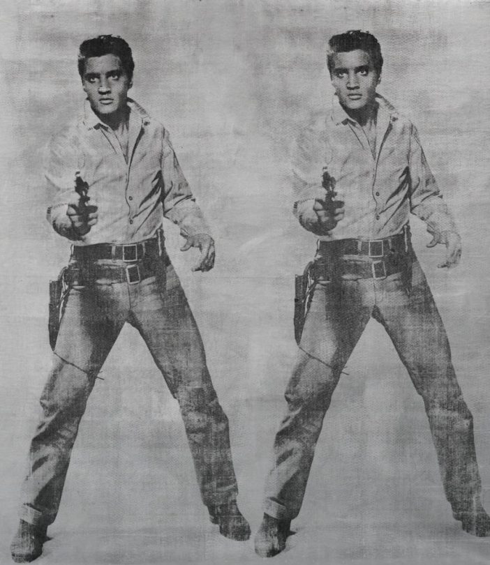 Andy Warhol, Elvis 2 Tiimes (1963). Image courtesy Sotheby's