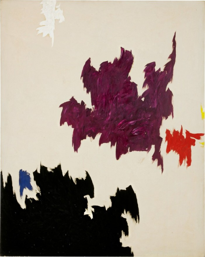Clyfford Still,PH-568(1965). Courtesy of Sotheby's Hong Kong