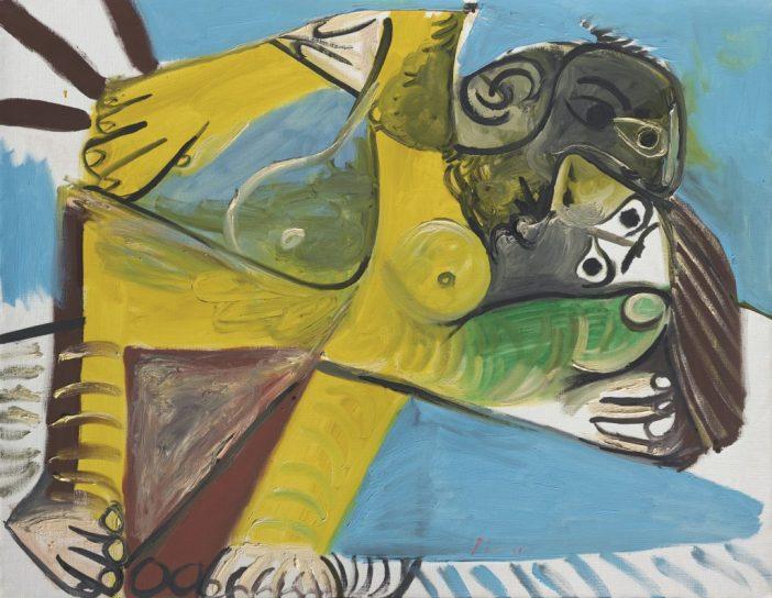 Pablo Picasso,L'Étreinte(1969). Courtesy of Christie's Images, Ltd.