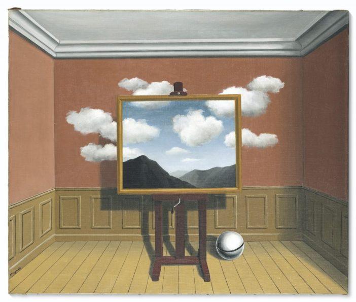 Rene Magritte,La vengeance(1936). Courtesy of Christie's Images, Ltd.