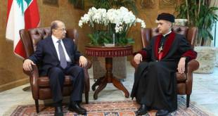 Metropolitan Mar Meelis Meets Lebanese President