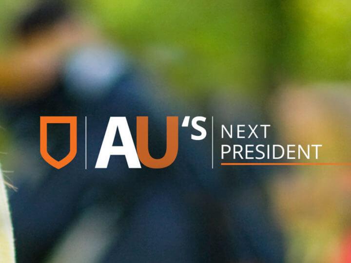 au's next president (banner)