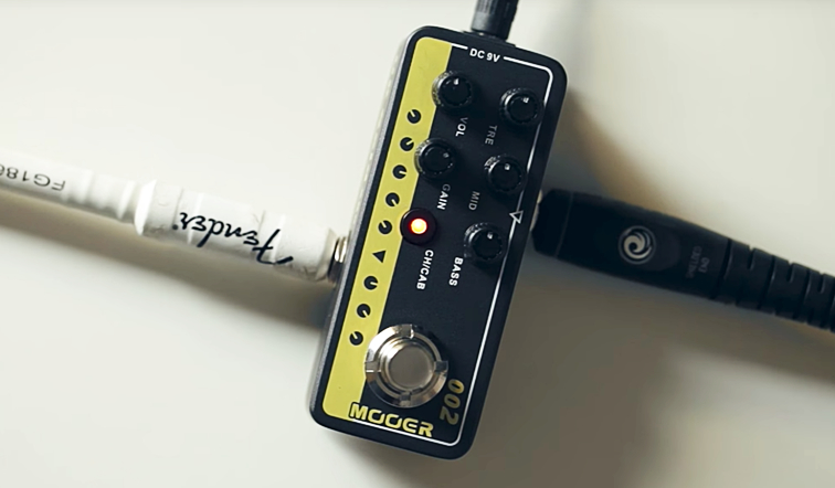 MOOER Music Radar Checks Out 10 Micro Preamp Pedals in 20 Minutes