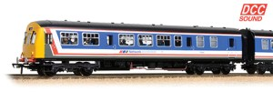 32-290DS, Class 101 DMU in Network SouthEast - with seated passengers