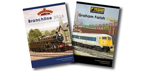 New 2018 Branchline & Farish Catalogues
