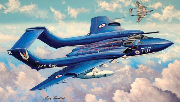 PKTM05808 De Havilland DH110 Sea Vixen FAW.2