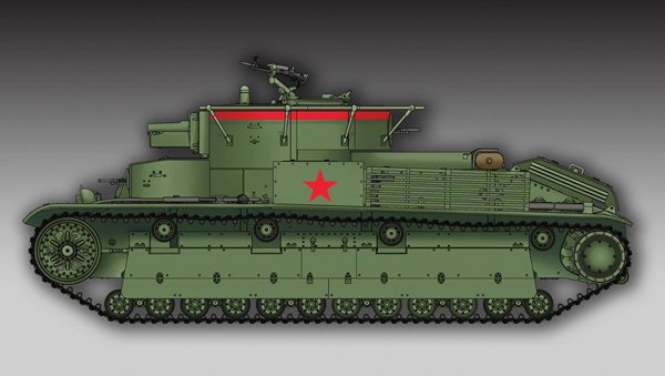 PKTM07150 Soviet T-28 Medium Tank (Welded)