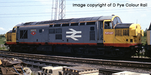 Red Stripe Railfreight Class 37/0 – Sales Area Exclusive