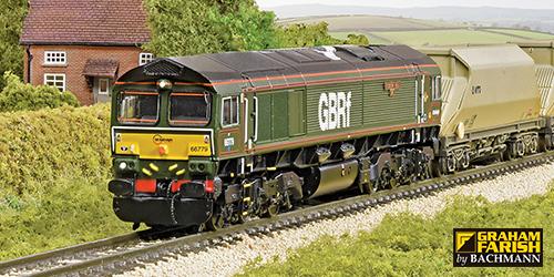 Graham Farish Class 66s Arrive