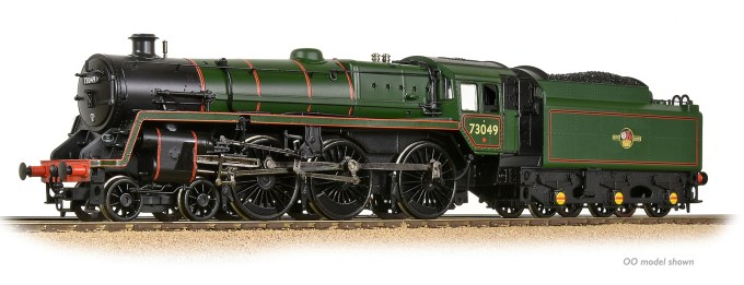 NEW 2019 SOUND FITTED BR Standard 5MT with BR1 Tender No. 73049 in BR Lined Green (Late Crest)  (372-728SF)