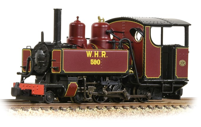 NEW 2019 Bachmann OO9 Our first Sound Fitted Baldwin 10-12-D Tank 590 Welsh Highland Railway (391-031DS)
