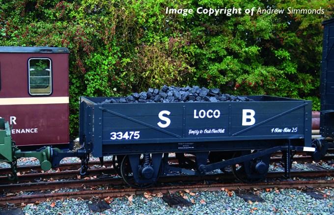 393-150 RNAD Rebuilt Open Wagon Statfold Barn Railway Grey
