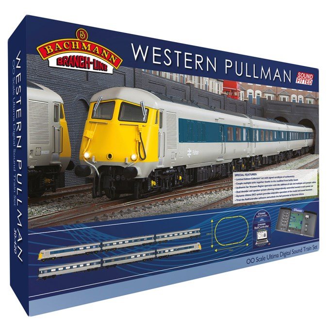 Western Pullman Ultima Digital Sound Train Set (30-420)