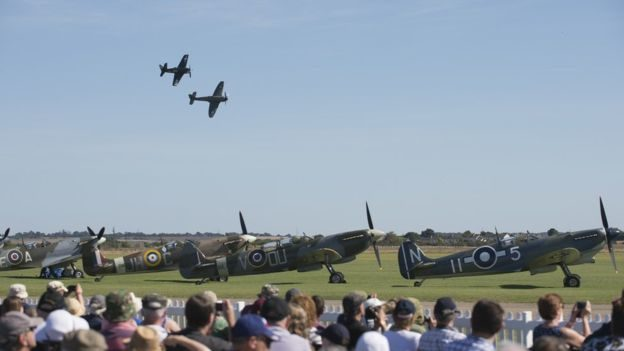 Bachmann on the Road – Battle of Britain Air Show