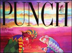 Last edition of Punch
