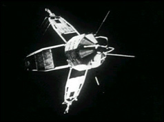 Ariel 3 in orbit