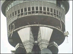 BT Tower bombed