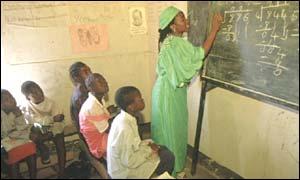 Escuela en Zambia