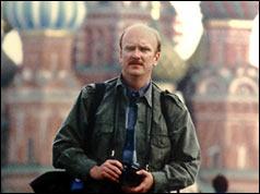Ken Hawkins en misión en Moscú, 2000