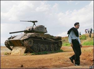 A french tank at Dien Bien Phu