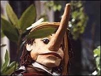 Pinocchio image from BBC
