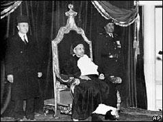 Regele Idris al Libiei în 1952