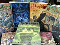 JK Rowling's Harry Potter books