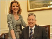 The DUP has said Mrs Robinson is to stand down from public office