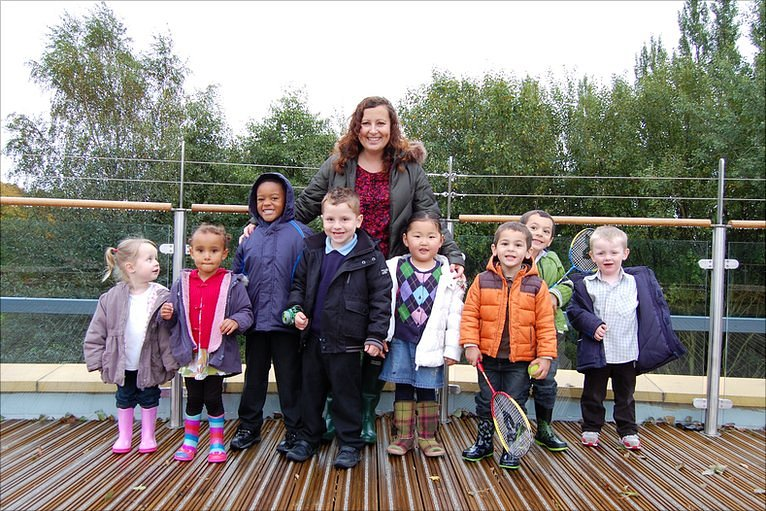 BBC Early Years Grand Design Opens At Nottingham School