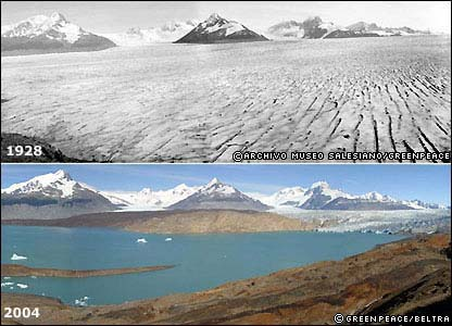 Glaciar Upsalar Argentina
