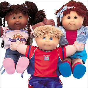 Cabbage Patch Kids!
