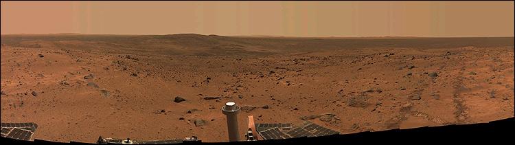 Spirit's view of Mars