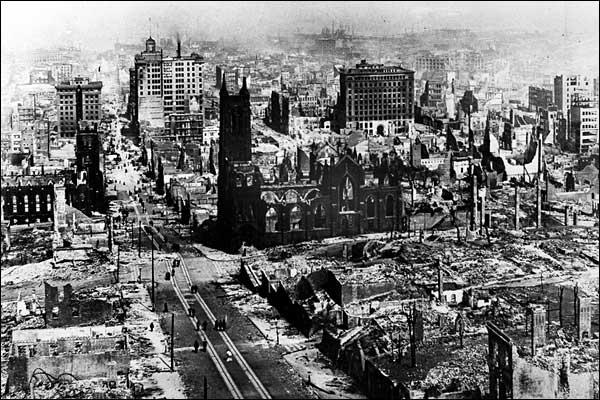 San Francico Earthquake of 1906
