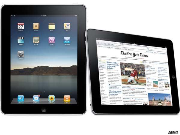 Apple's long awaited iPad